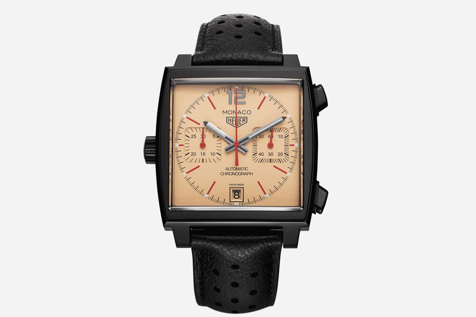 The Hour Glass and TAG Heuer Collaborate on an Anniversary Limited Edition Monaco