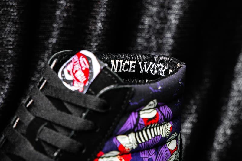 the nightmare before christmas vans collaboration sneaker vn0a4bv3t4v vn0a4bv5tpj vn0a4bv6t35 vn0a3wm7te1 sk8 hi old skool slip on authentic comfycush jack skellington disney collaboration colorway release date october 2019
