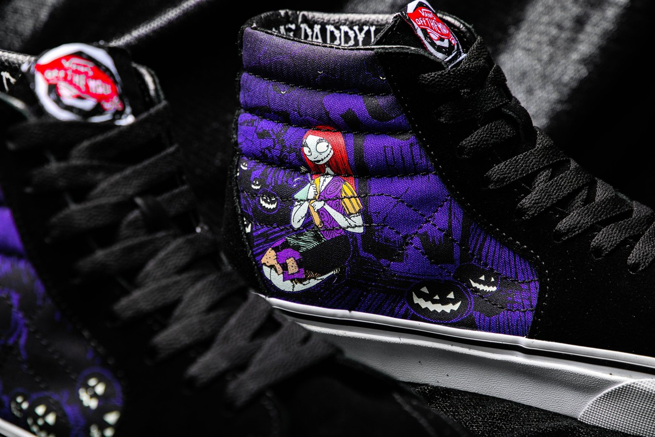 The Nightmare Before Christmas Vans Sneakers