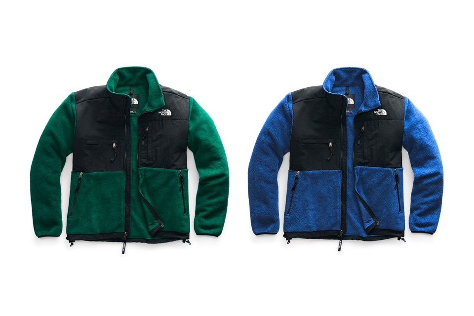The North Face Is Bringing Back Its Iconic '95 Denali Fleece