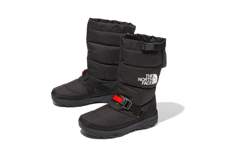 Nuptse Bootie GORE-TEX Series Pro Black Red Gray Silver Orange Yellow Vibram Arctic Grip Icetrek shoe release date info japan