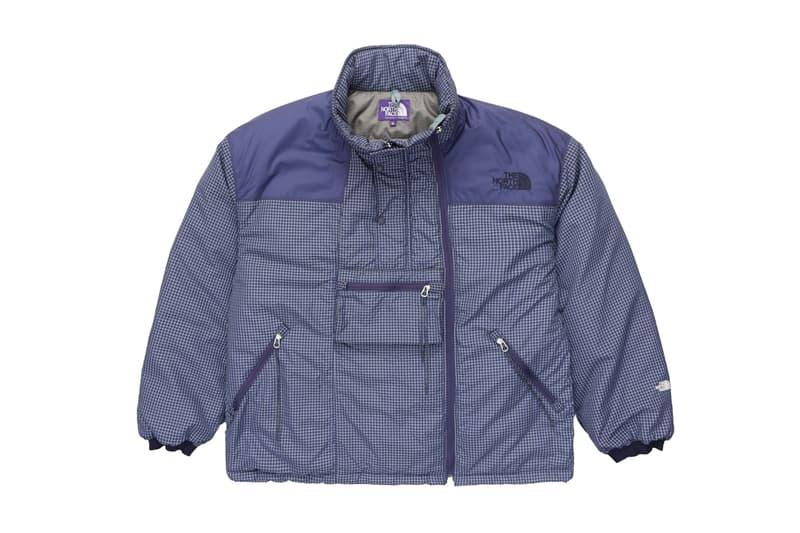 The North Face Purple Label Field Insulation Jacket Mountain Wind Parka primaloft silver insulation eco white ripstop weave denier nylon outerwear