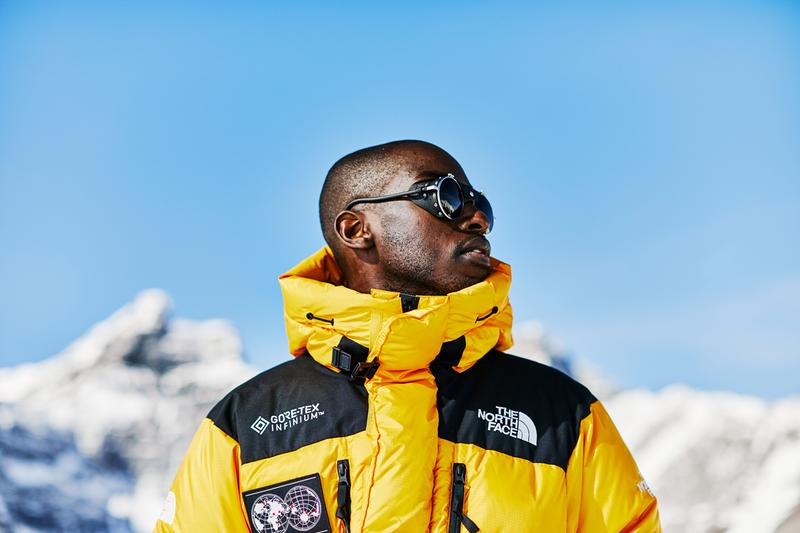 The North Face 7 Summits Collection Yellow Black Himalayan Parka '95 Denali Fleece Explore Haulaback Backpack 7SE Bootie DesLauriers kit seven