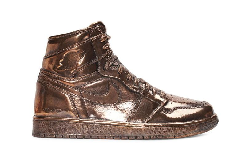 NTWRK has Matthew Senna craft Bronze replicas of Air Jordan 1 and Air Jordan 4 drawings classic silhouette Jay-Z Drake LeBron James DJ Khaled higher learning iconic detailed heavyweight bronze sculpture Live Nation Los Angeles
