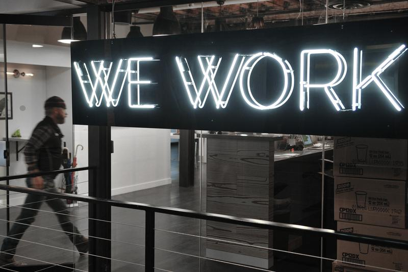 the we company wework real estate management rental shared office space service IPO initial public offering investment