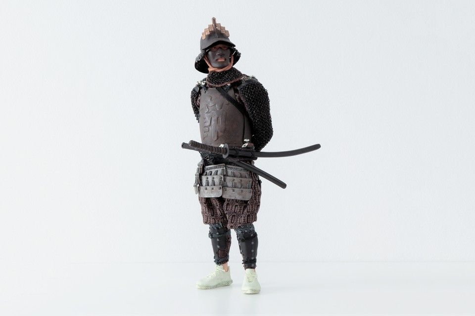 Tetsuya Noguchi Brings Streetwear-Clad Samurai Sculptures to Arsham/Fieg Gallery