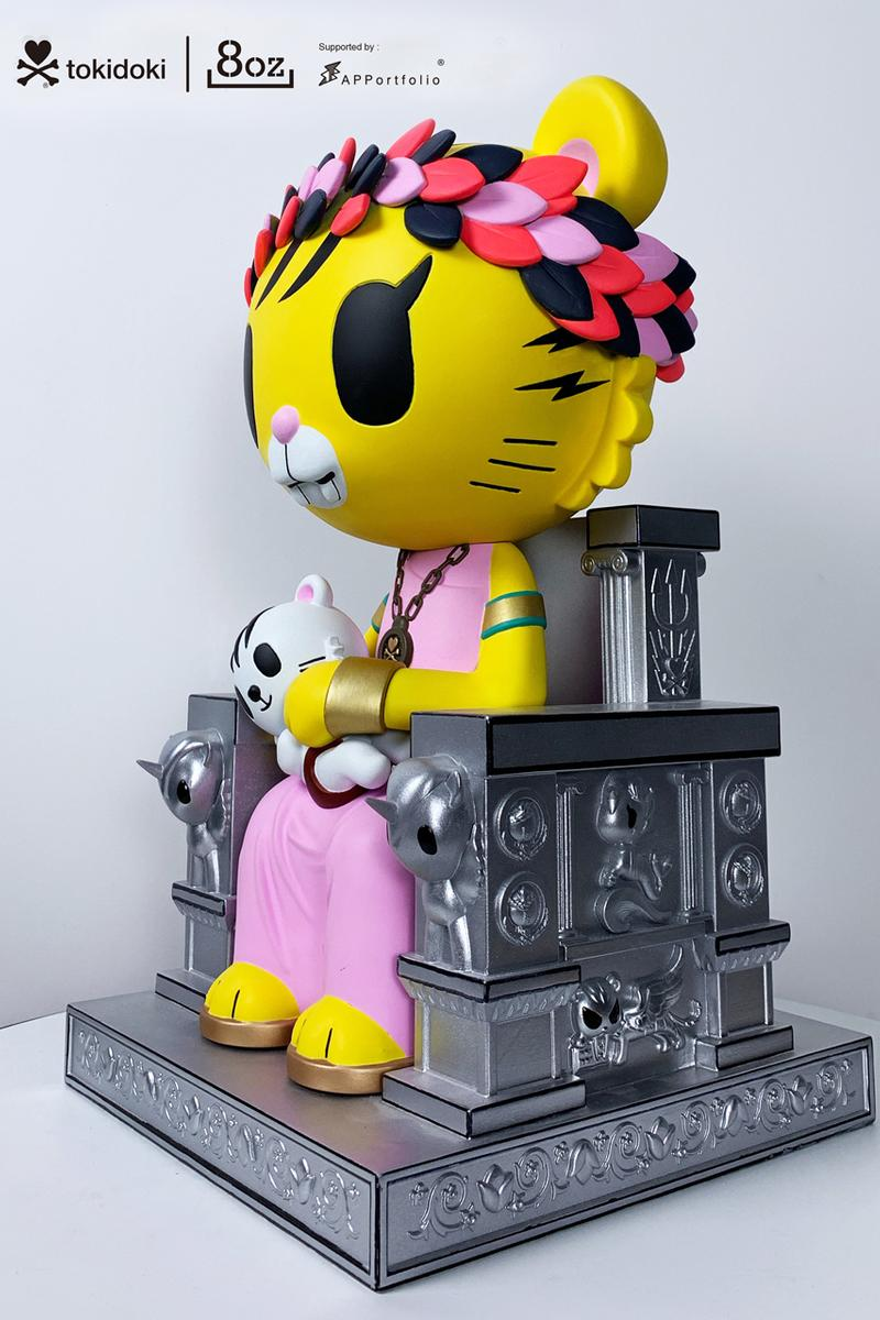 official photos 0cff6 99fe6 tokidoki x 8oz Salaryman Tiger Family Release | HYPEBEAST