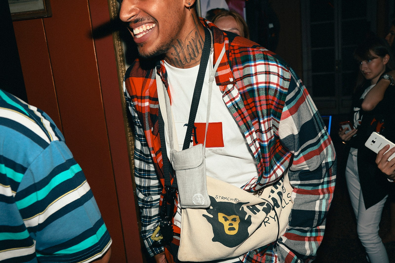 TommyxLewis Collab collection Milan Launch Party Tommy Hilfiger Lewis Hamilton Pusha T
