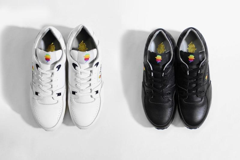 """Tomo & Co. """"Apple Trainer"""" reebok classic 1990s steve jobs japan leather logo reference inspiration colorway release date info buy air sole bubble unit"""