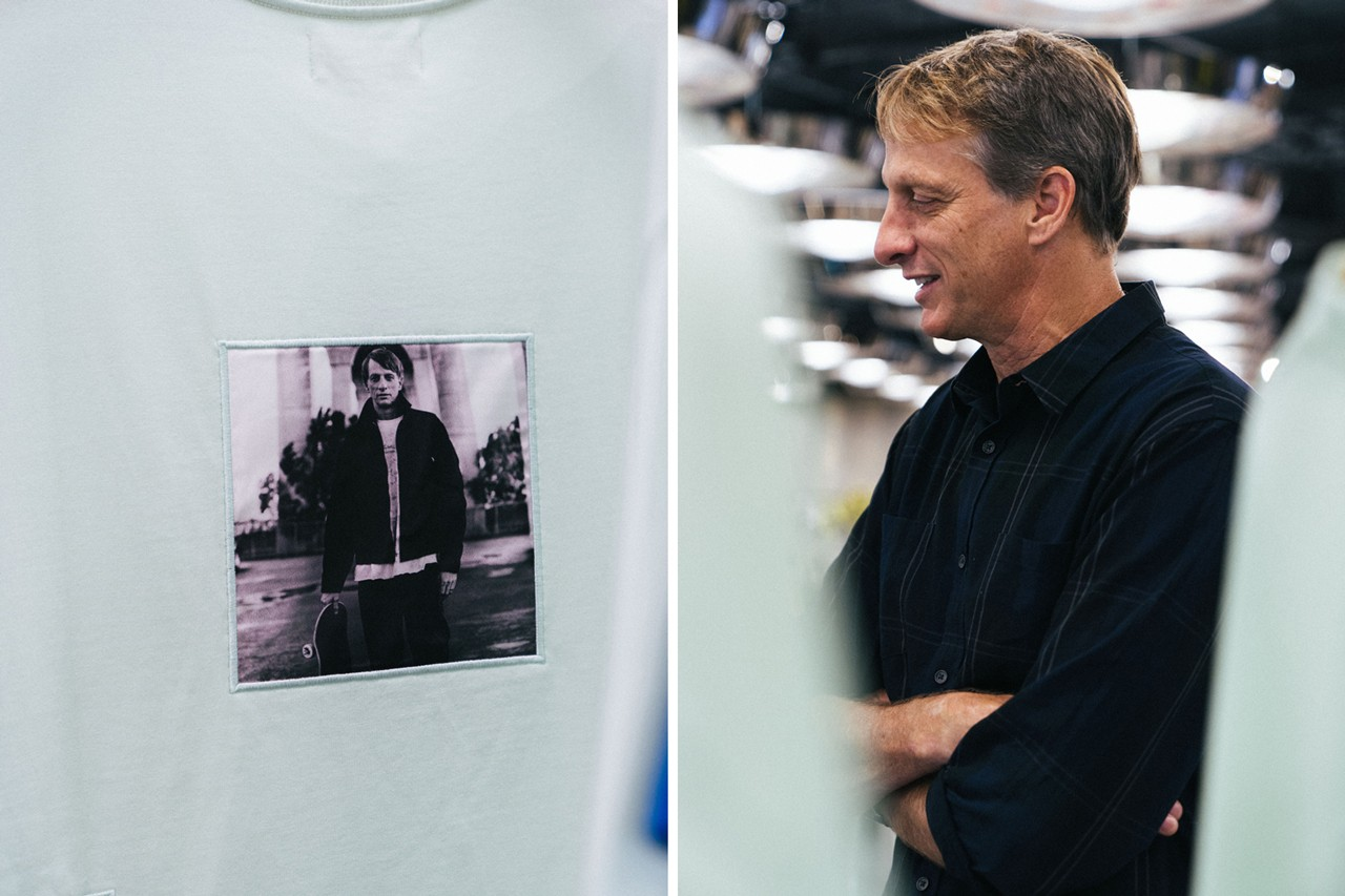 tony hawk streetsnaps new york city signature line launch interview 10 corso como reign retailers skateboarder riley hawk sneakers vince button up shirt