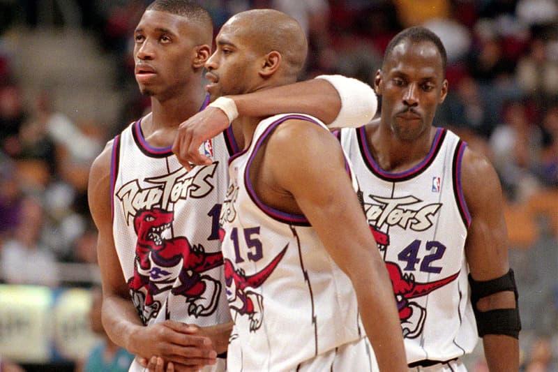 sale retailer f2042 ecd05 Toronto Raptors Bring Back Original Dino Jersey | HYPEBEAST