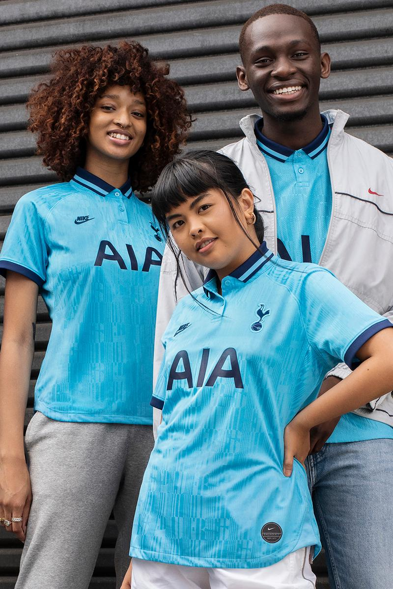 tottenham hotspur 2019 20 spurs third kit light blue nike aj tracey north london derby champions league details buy cop purchase order