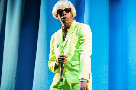 """Tyler, the Creator Lives a Lavish Mansion Life in """"A BOY IS A GUN*"""" Music Video"""
