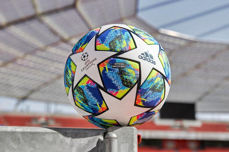 2019 uefa champions league group stage official match ball adidas football colorful graphic print pattern white stars buy cop purchase pre order liverpool napoli chelsea valencia preview barcelona real madrid ajax inter milan