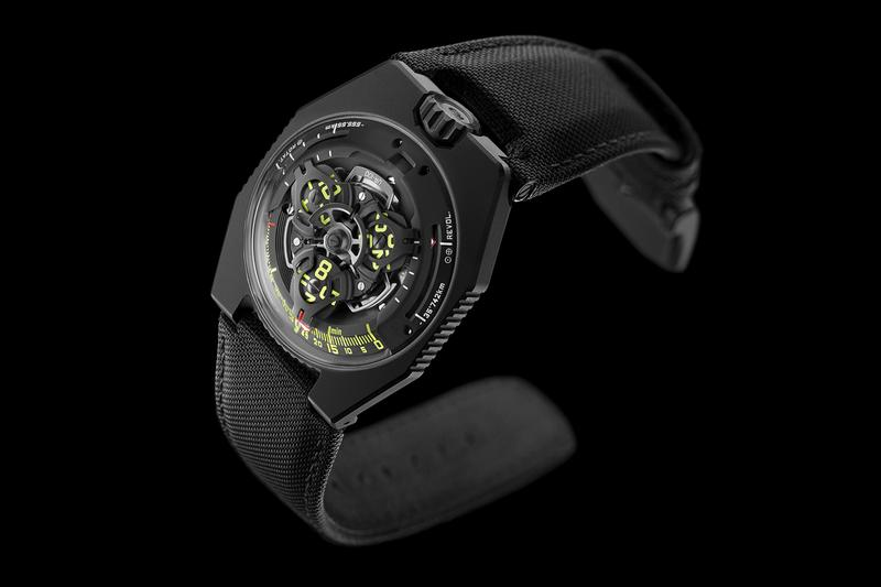 Urwerk UR-100 SpaceTime Release Info Date Buy Black Silver Watches Earth Distance Travelled