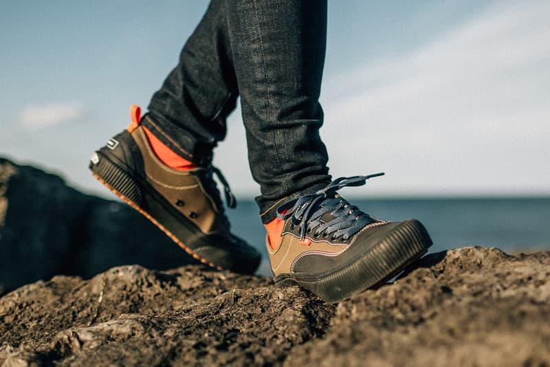 vans finisterre surfing sustainable sneaker clip-er ultrarange hi dl detrust footwear release information detailing buy cop purchase