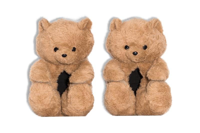 vetements hug me teddy bear slippers buy cop purchase release information browns details demna gvasalia 695 777 gbp usd