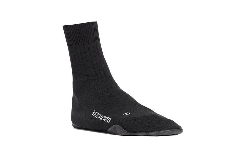 vetements the webster karate anarchy shoe sock sneaker black demna gvasalia balenciaga sole