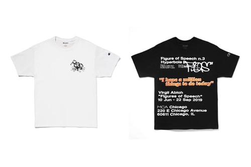 "MCA Chicago Drops More Virgil Abloh-Designed ""Figures of Speech"" T-Shirts"
