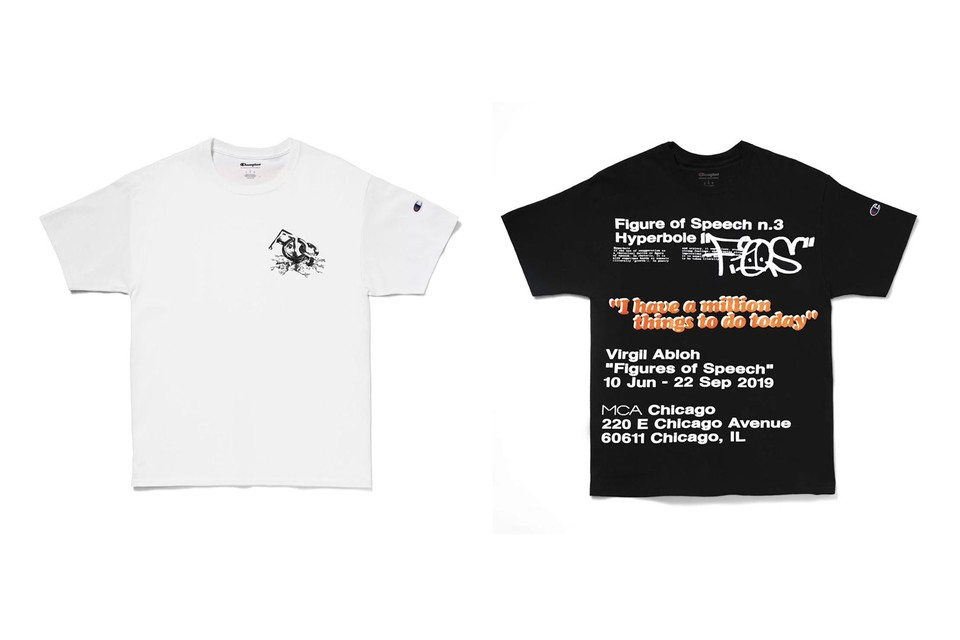 Virgil Abloh x MCA Chicago FOS T-Shirts Release | HYPEBEAST