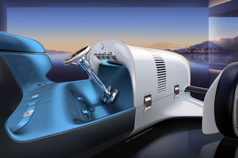 vision mercedes simplex concept car electric vehicle 1901 35 ps vintage futuristic