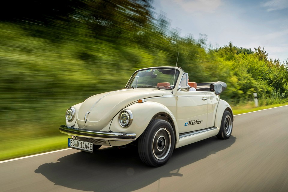Volkswagen Unveils Electrically-Powered Classic Beetle