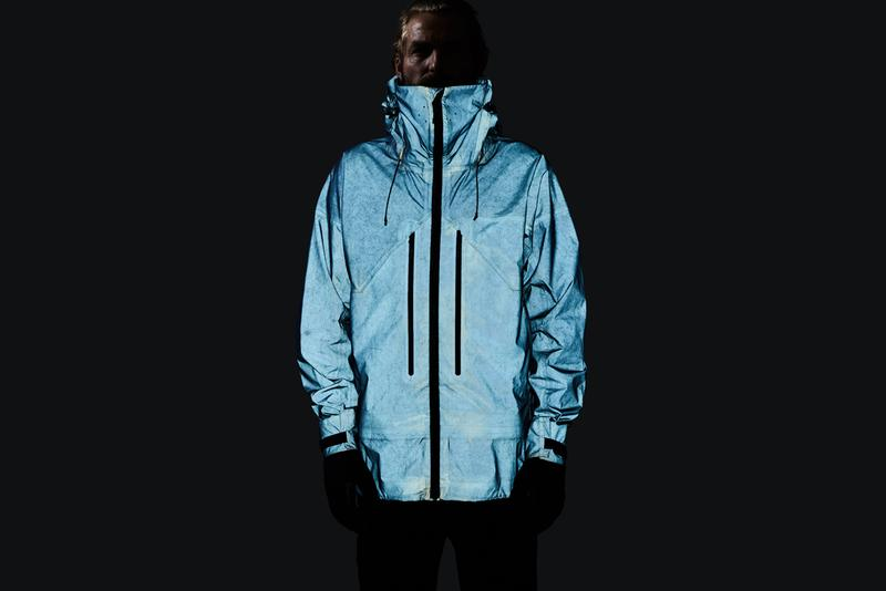 Vollebak Blue Morpho Butterfly Jacket Matte Bionic Shimmering Metallic Reflective