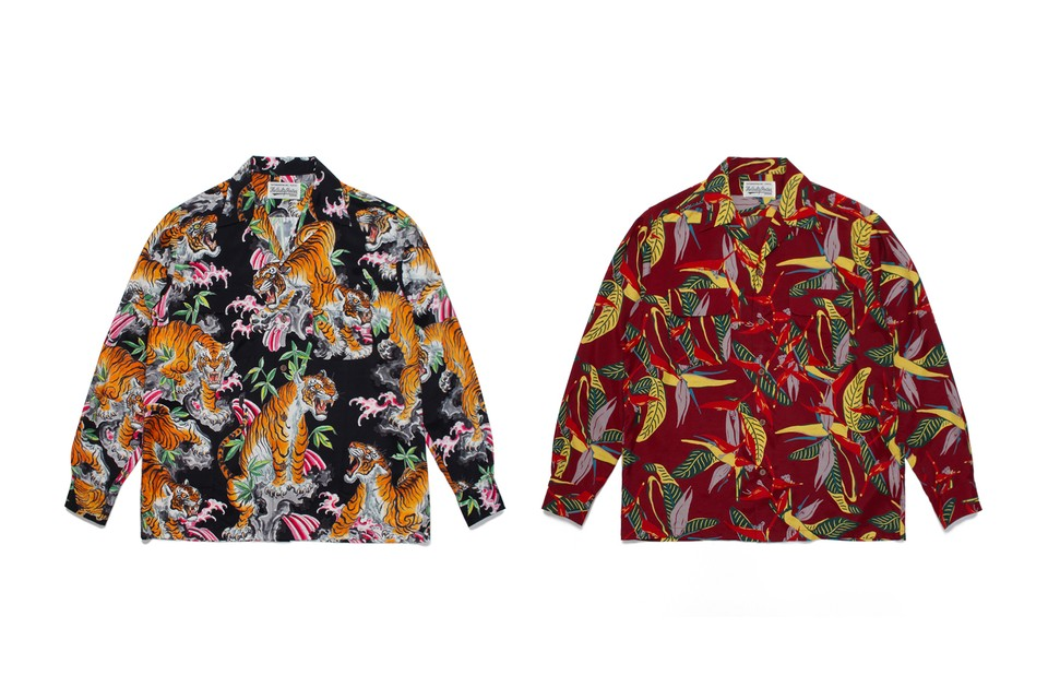 WACKO MARIA Reimagines Subtropical Prints and Traditional Japanese Motifs In Latest Shirts