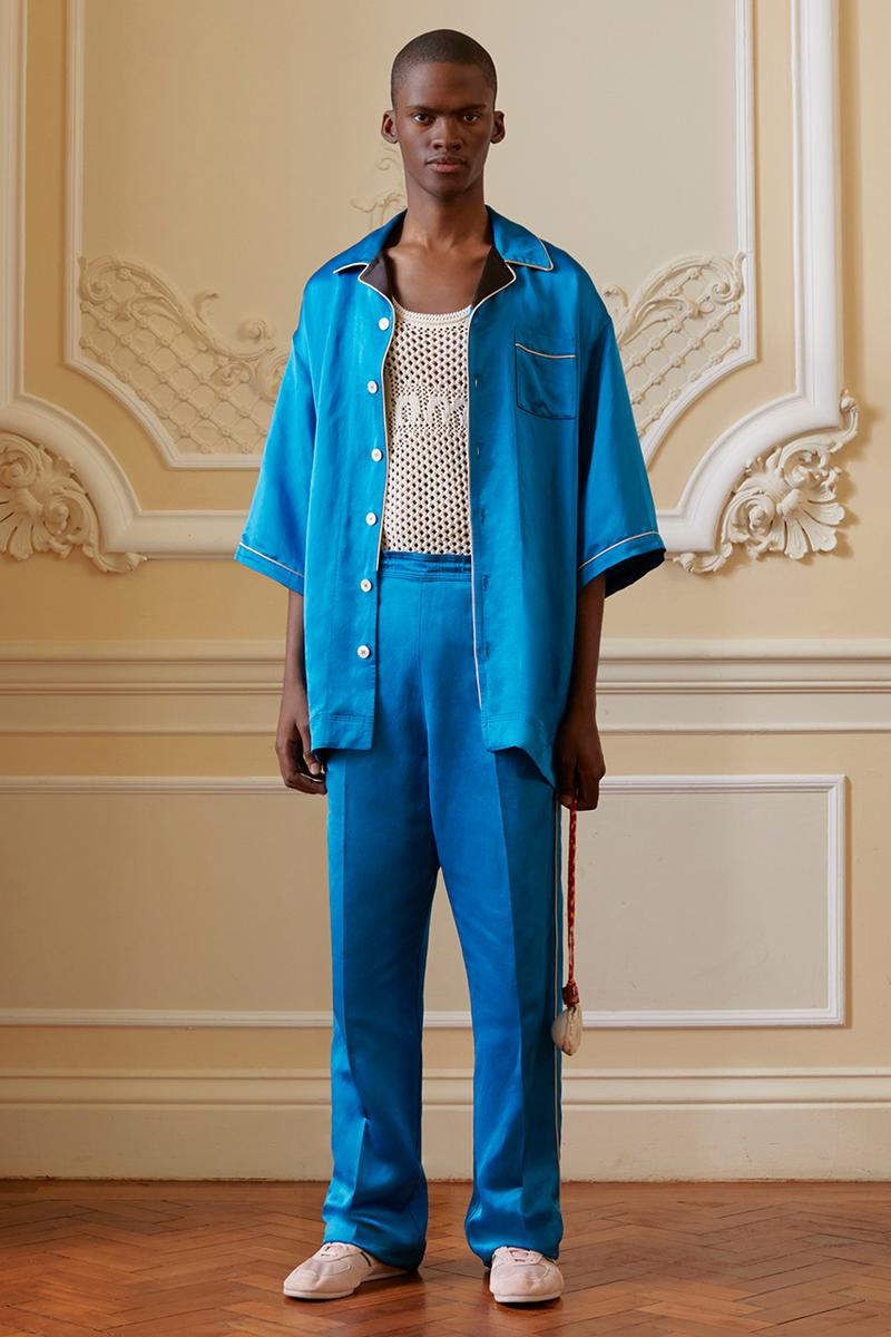 "Grace Wales Bonner Spring/Summer 2020 ""Mambo"" Ready-to-Wear Collection Lookbook Tailoring adidas Originals Capsule Suits Menswear Central St. Martins London Alumni BFC/'Vogue' Fund Winner"