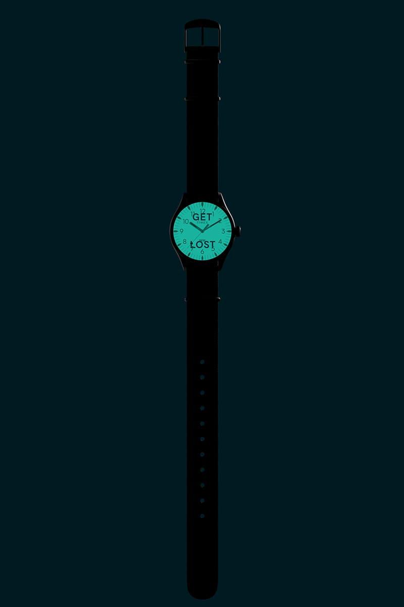 wood wood watch timex waterury get lost buy cop purchase glow in the dark release information buy cop purchase order danish timepiece