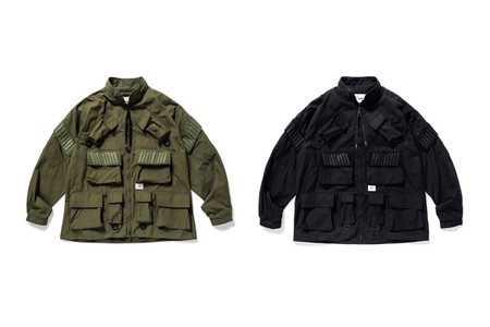 WTAPS Revamps Traditional Military Designs With Latest Modular Jackets