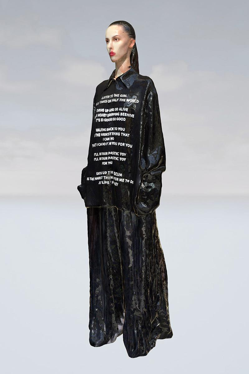 Yang Li Spring Summer 2020 Ready-To-Wear Collection Lookbook AUTOMATIC SHOW II Agusta Yr SHOWstudio  The Jesus and Mary Chain