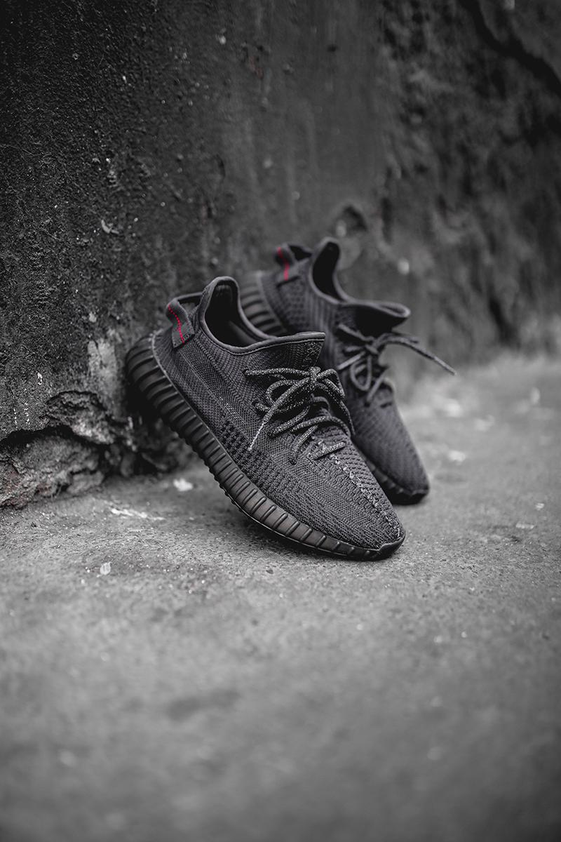 "new concept 6aed9 a5dd0 YEEZY BOOST 350 V2 ""Black"" Black Friday Re-Release 