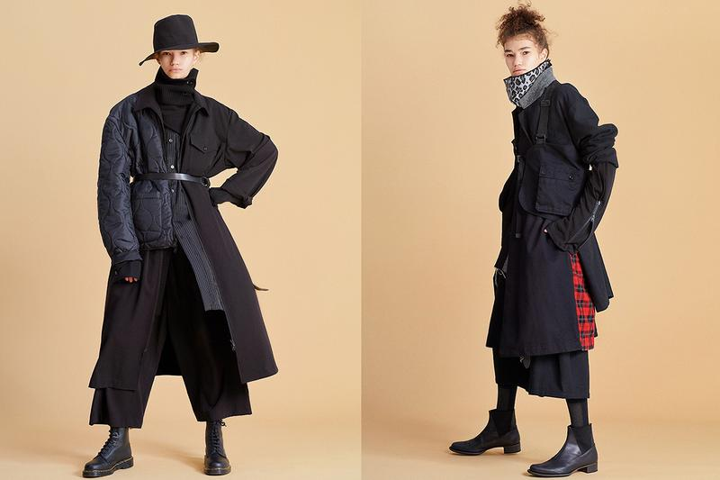 Yohji Yamamoto Launches First Online Exclusive Brand  S'YTE Japan Fashion Luxury Streetwear Military Outerwear Pants Shirts