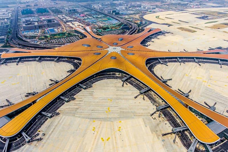 zaha hadid architecture architects beijing daxing international airport ADP Ingenierie adpi starfish design china open