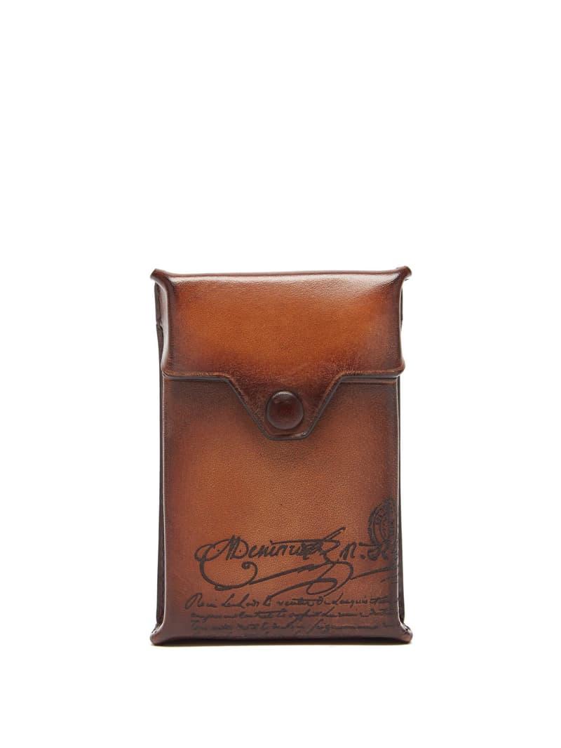Berluti Scritto Leather Cigarette Case release where to buy price 2019