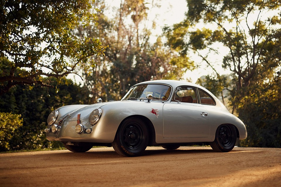 An Emory Motorsports 1959 Porsche 356A Outlaw Sunroof Coupe is up for Auction