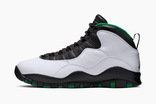 """Air Jordan 10 """"Seattle"""""""