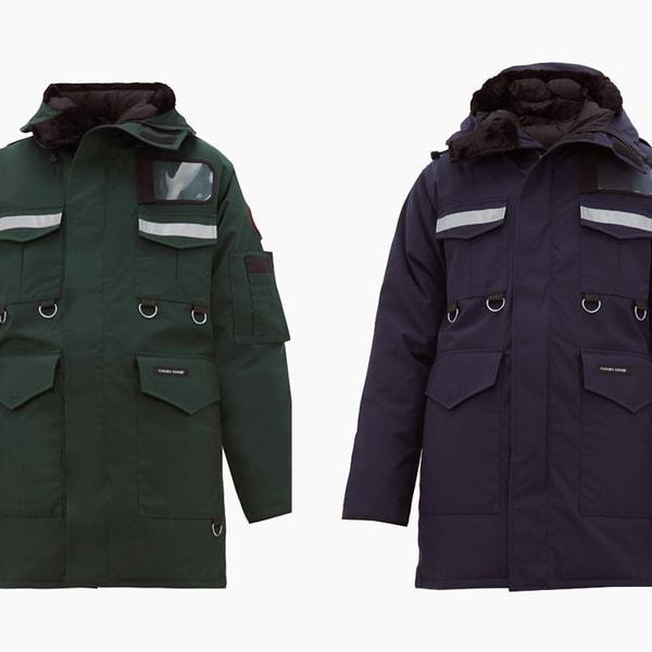 Junya Watanabe x Canada Goose Four-Pocket Coat