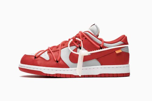 "Off-White™ x Nike SB Dunk Low ""University Red"""