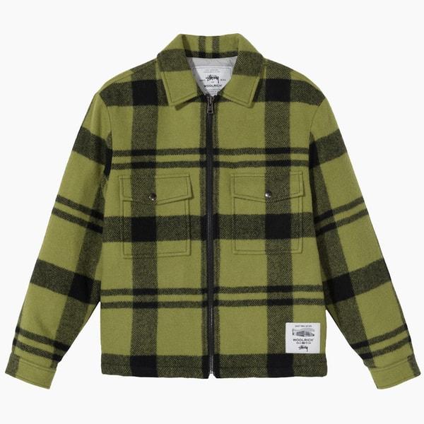 Woolrich x Stussy Work Shirt