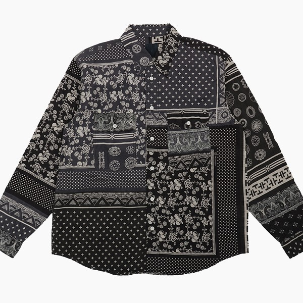visvim Patchwork Bandana Handyman Shirt