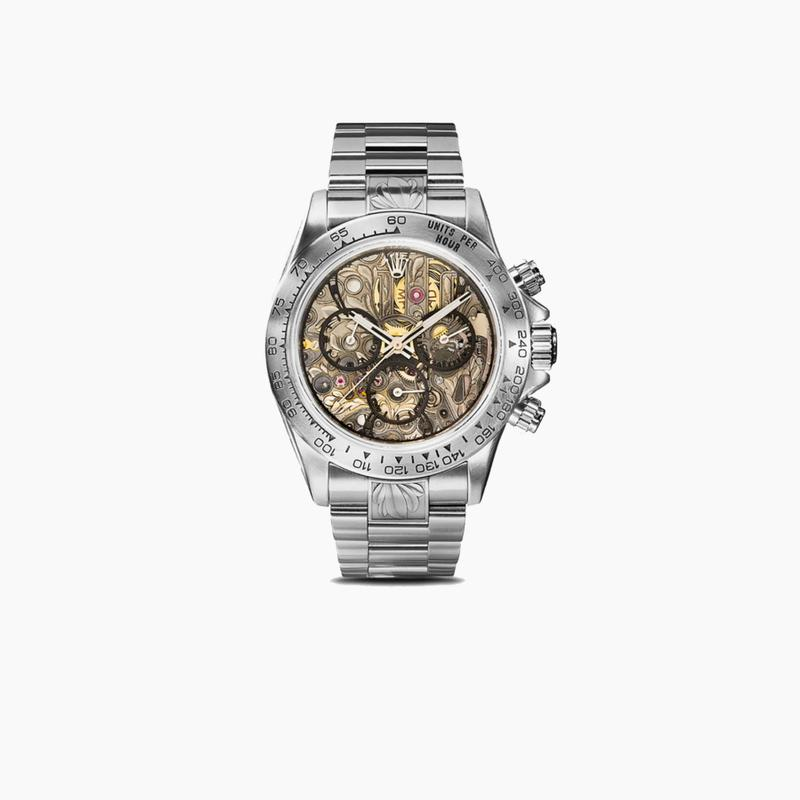 MAD Paris x Rolex Daytona Openwork SK II Watch