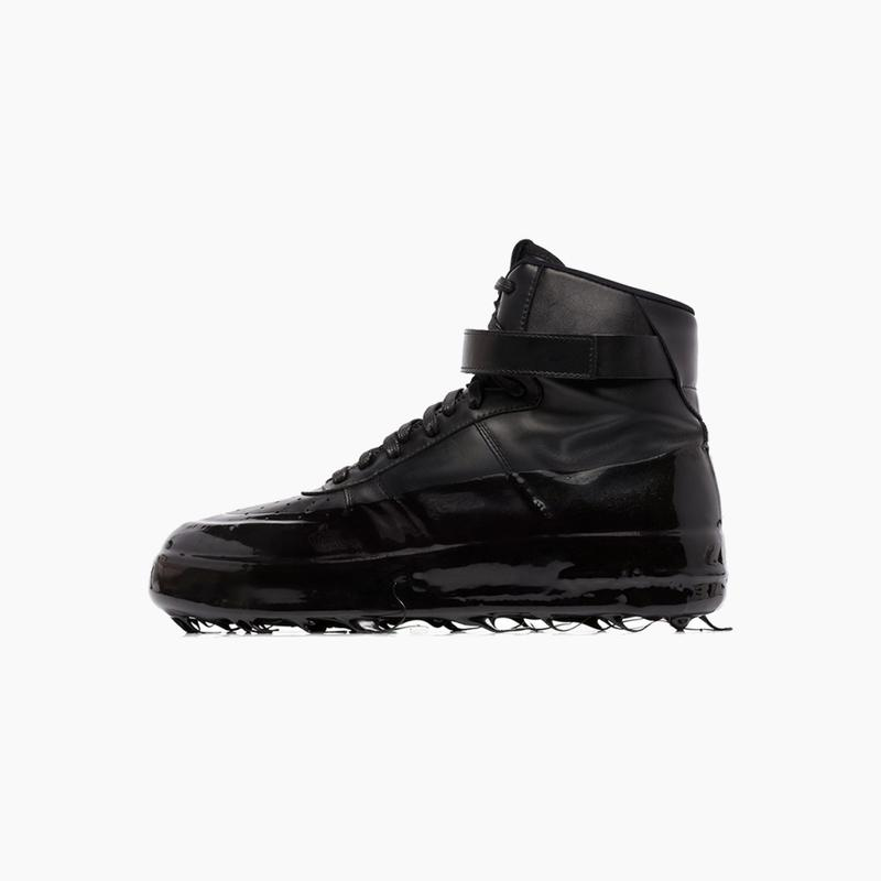 """424 High Top Dipped Sneakers""""Black/White"""""""