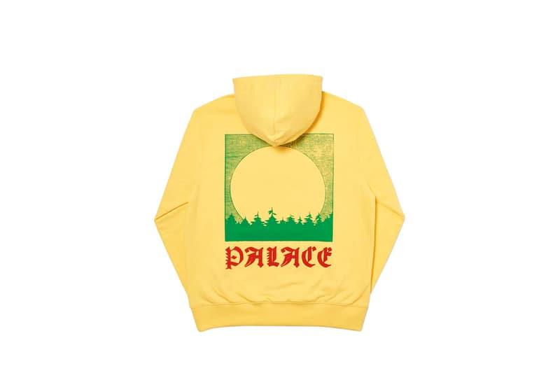 Palace Skateboards Winter 2019 Week 3 Droplist collection fw19 umbrella jacket tee shirt hoodie triferg cordura
