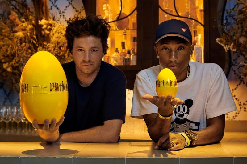 pharrell williams jean imbert mood by christofle design cutlery silverware yellow joy share print