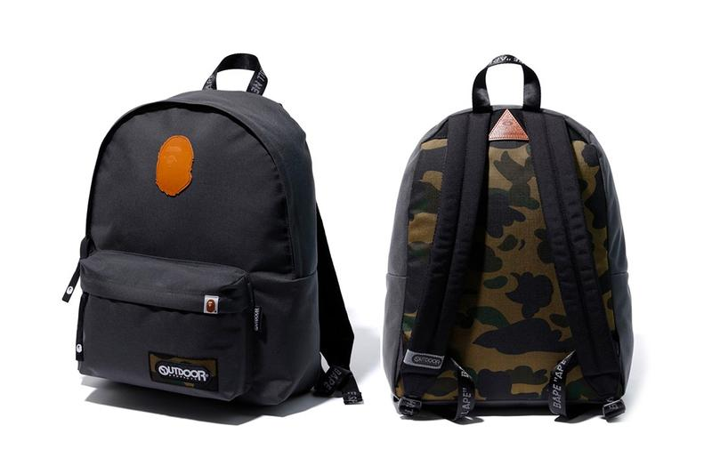 BAPE x Outdoor Products Bape capsule Bags boston bags camo A Bathing Ape CORDURA