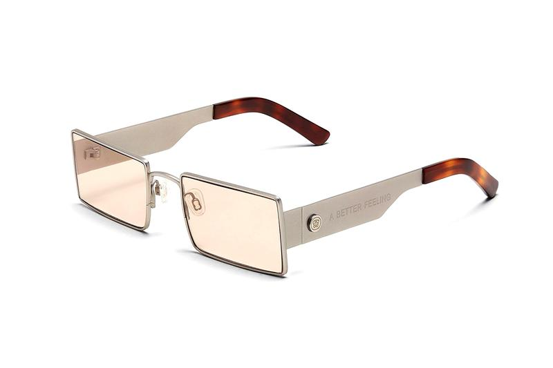 "A BETTER FEELING Eyewear Release Information Collection ""AMPERE"" ""SOLAR1"" ""1EIGHTY"" ""ROCOS"" Sunglasses Minimalistic Frames Lens Design Retro Futuristic Contemporary"