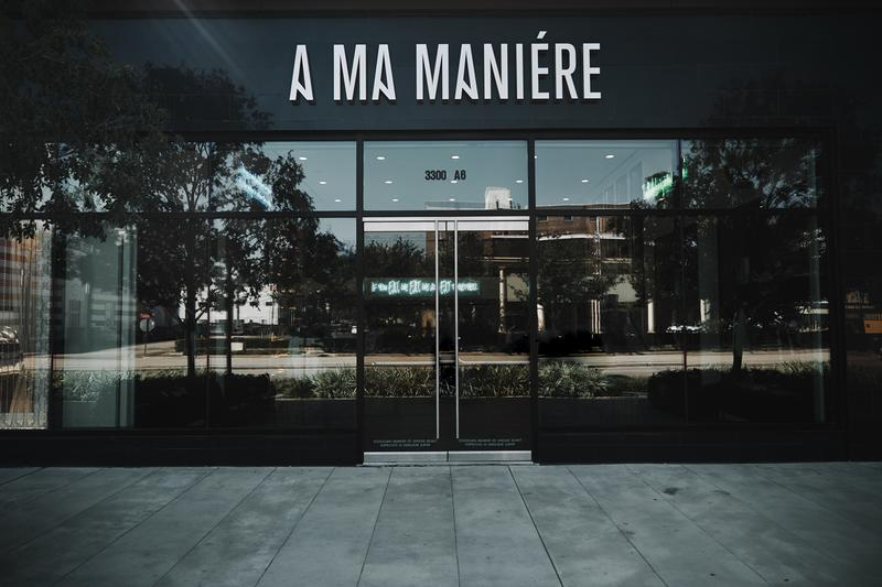 A Ma Maniere Houston texas Eats Store Restaurant lounge retail streetwear food night club pictures inside hours weekend