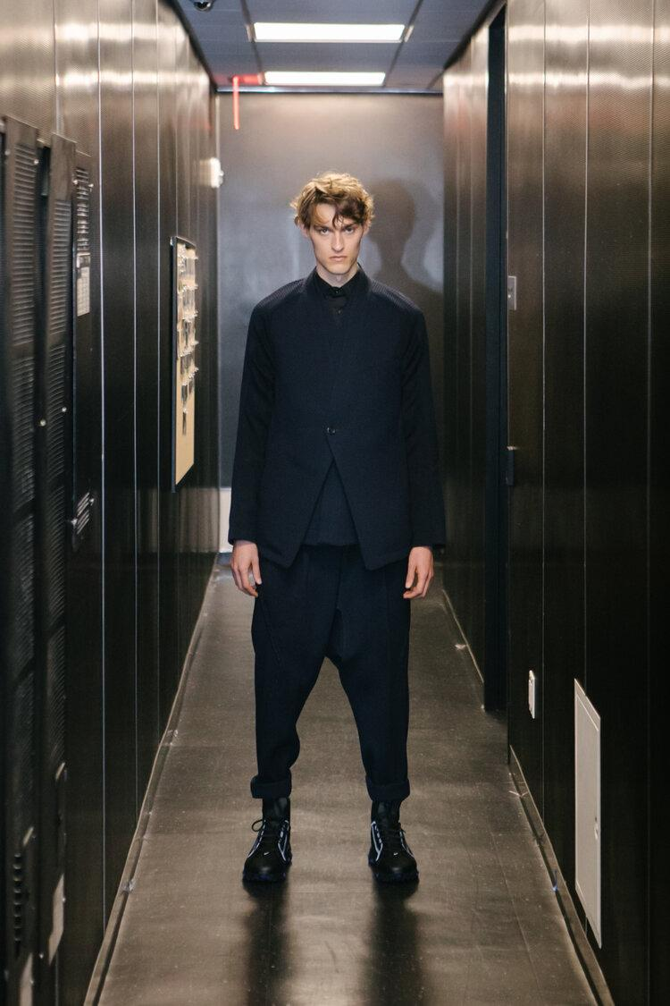 Abasi Rosborough Spring/Summer 2020 Collection lookbook runway presentation ss20 3d vr technology suits tailoring greg abdul